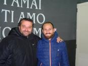Giovanni Tufano con il Direttore Sportivo Carmine Sorrentino