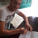 Felice Simonetti firma per il Nola