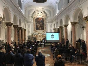 L'affetto dei tifosi del Nola ha fatto da cornice all'evento presso la Chiesa dei SS Apostoli