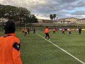 Rifinitura allo Sporting Club per i ragazzi di mister Liquidato